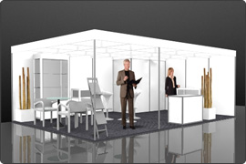 Messestand modular 10.000 Euro