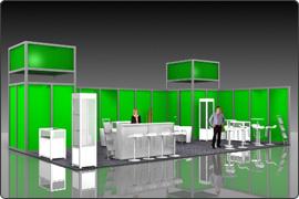 Messestand modular 15.000 Euro
