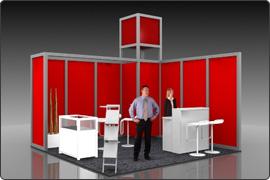 Messestand modular 2.500 Euro
