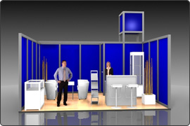 Messestand modular 4.000 Euro