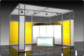 Messestand modular 5.000 Euro