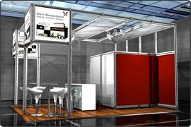 Messestand modular 8.000 Euro