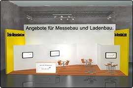 Stand construction Dusseldorf fair - rowstand Euroshop