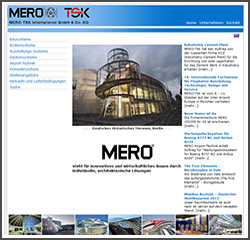 Mero TSK Screenshot Webseite