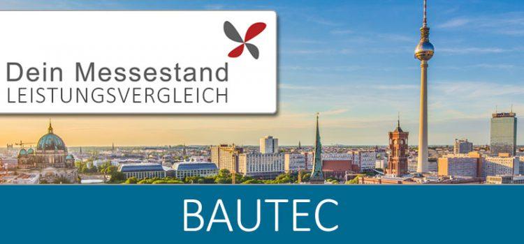 Messestand Bautec Berlin