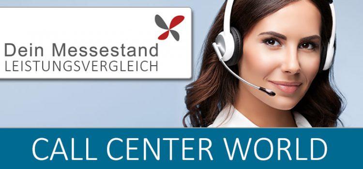 Messestand CCW – Call Center World Berlin