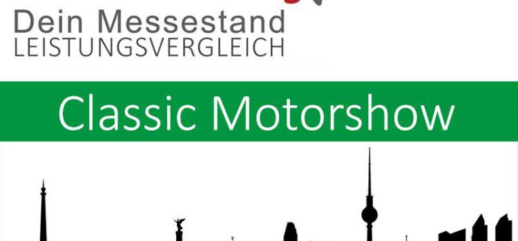 Messestand Classic Motorshow Bremen
