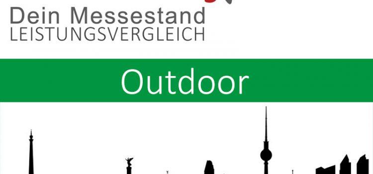 Messestand Draussen Bremen