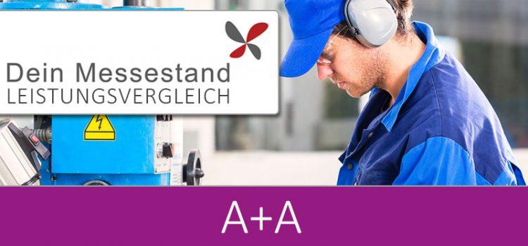 Messestand A+A Düsseldorf