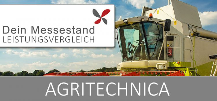 Messestand Agritechnica Hannover