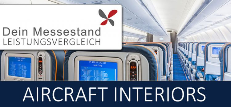 Messestand Aircraft Interiors Hamburg