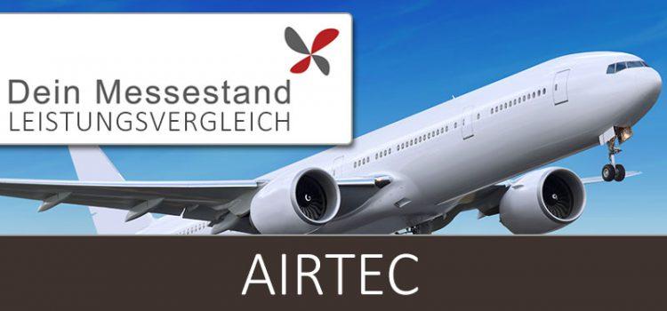 Messestand Airtec Frankfurt