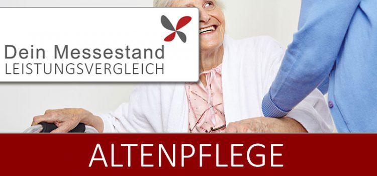 Messestand Altenpflege Nürnberg
