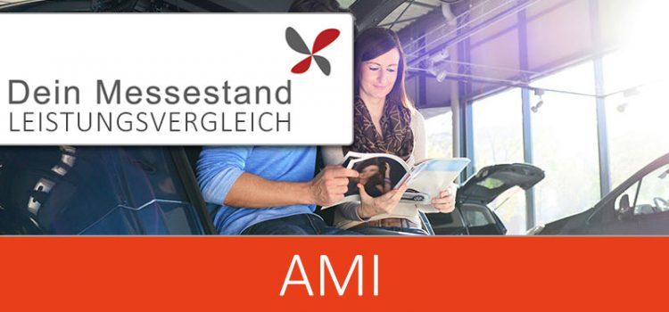 Messestand AMI Leipzig