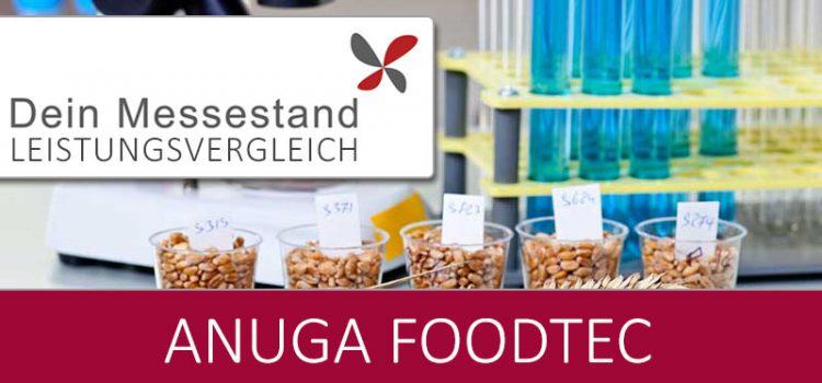 Messestand Anuga Foodtec Köln