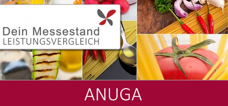 Messestand Anuga Köln
