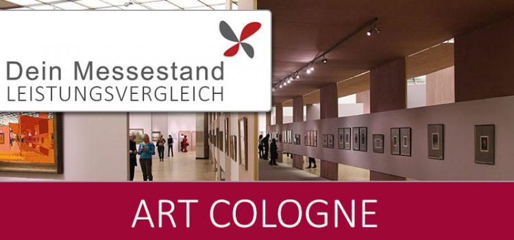 Messestand Art Cologne Köln