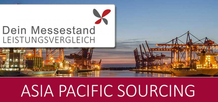Messestand Asia Pacific Sourcing Köln