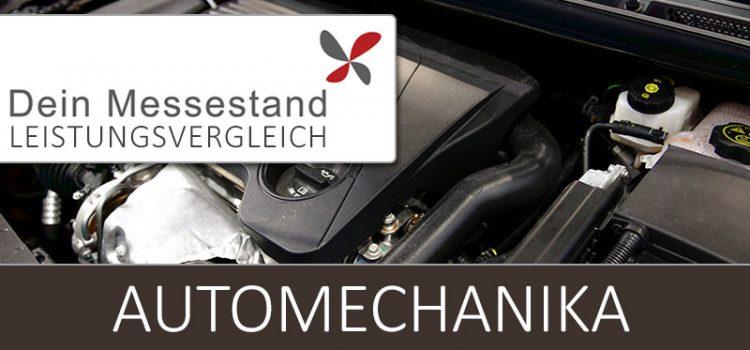 Messestand Automechanika Frankfurt