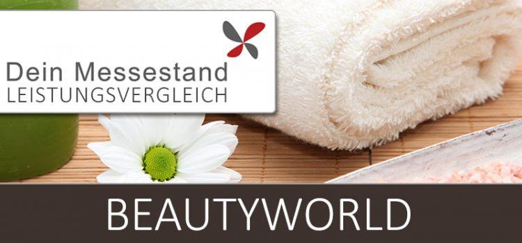 Messestand Beautyworld Frankfurt