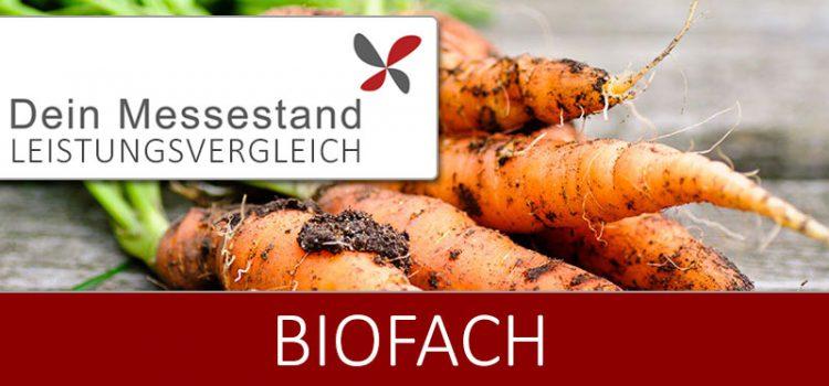 Messestand Biofach Nürnberg