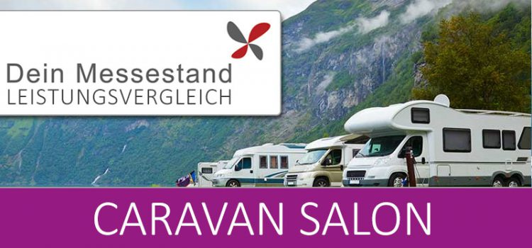 Messestand Caravan Salon Düsseldorf