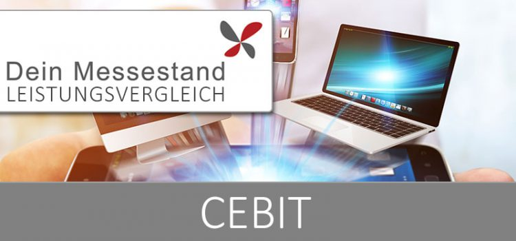 Messestand CeBIT Hannover