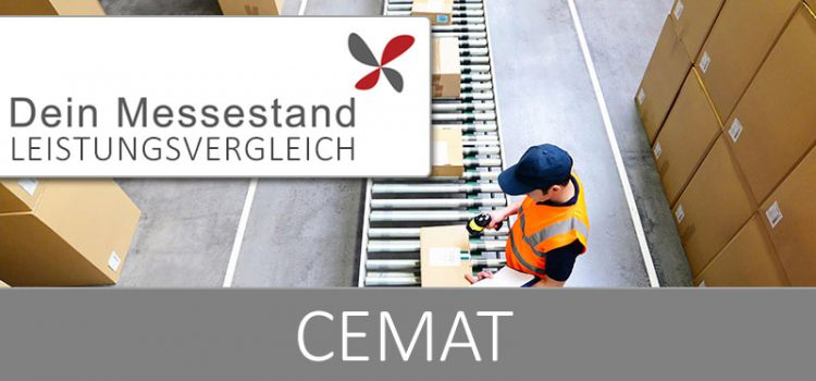 Messestand CeMAT Hannover