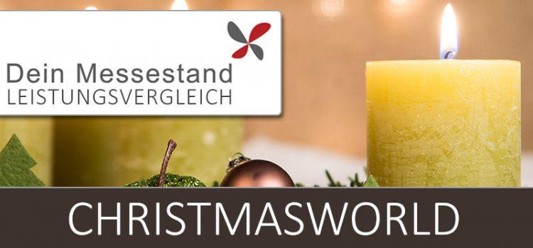 Messestand Christmasworld Frankfurt