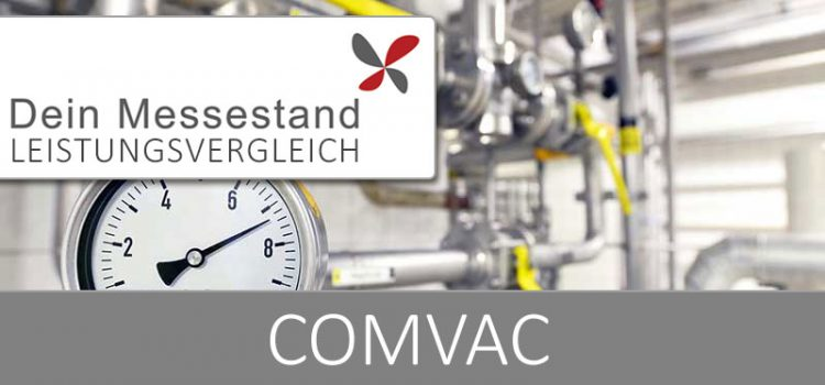 Messestand ComVac Hannover