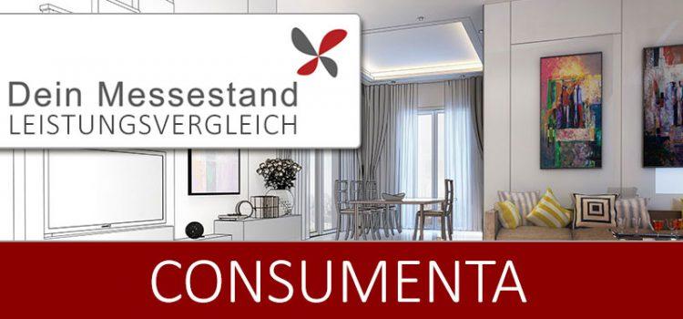 Messestand Consumenta Nürnberg