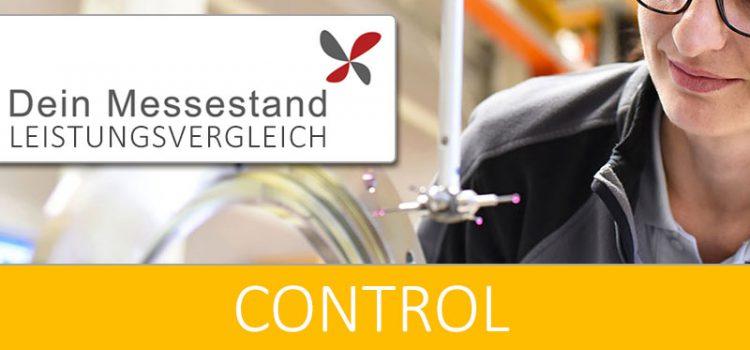 Messestand Control Stuttgart