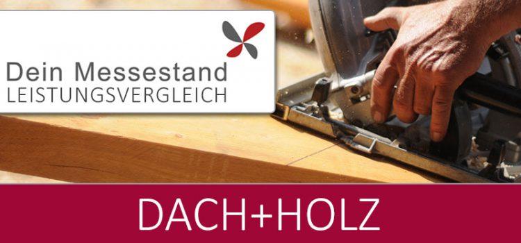 Messestand Dach+Holz Köln