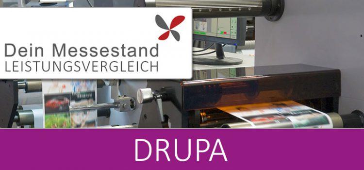 Messestand Drupa Düsseldorf