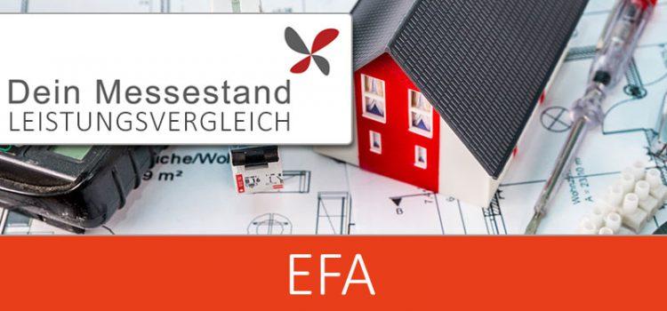 Messestand EFA Leipzig