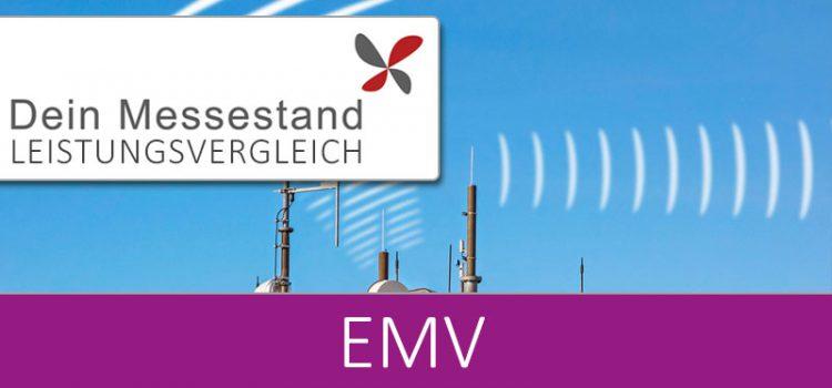 Messestand EMV Düsseldorf