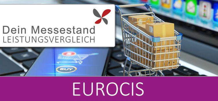 Messestand EuroCIS Düsseldorf