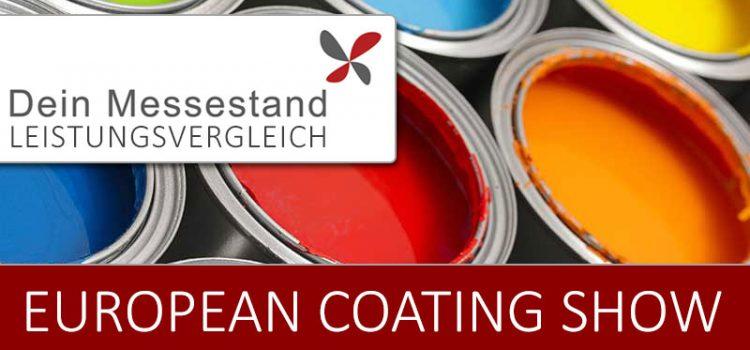 Messestand European Coating Show Nürnberg