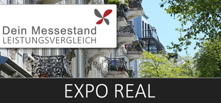 Messestand Expo Real München