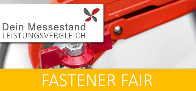 Messestand Fastener Fair Stuttgart