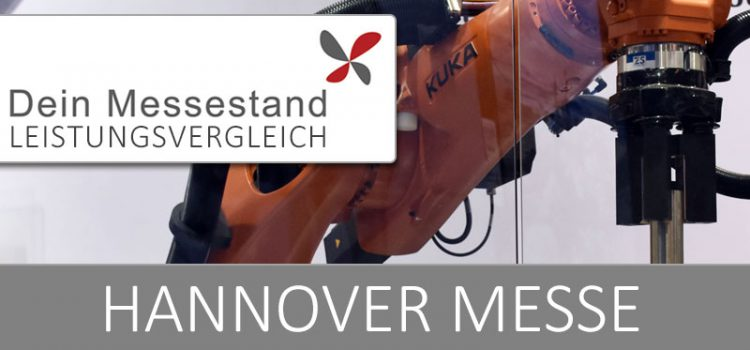 Messestand Hannover Messe