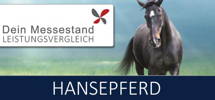 Messestand Hansepferd Hamburg